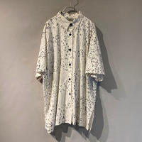 face pattern S/S shirt