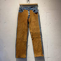 "80s ""Levi's"" remake denim pants"