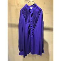 dressy design L/S shirt