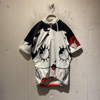 "80s ""Betty Boop"" cycling tops"