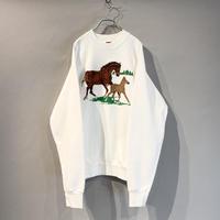 old animal print sweat shirt