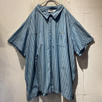 "7XL ""KING SIZE"" S/S stripe shirt"