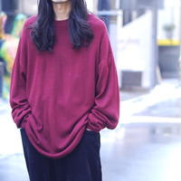 Oversized silk knit
