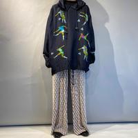 soccer design silk pullover