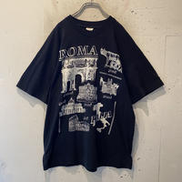 80s〜 ROMA printed T-shirt