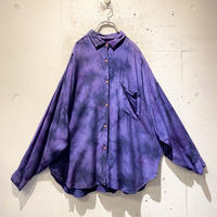 tie-dye design L/S shirt