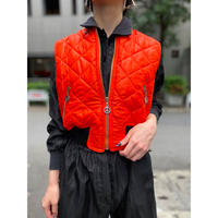 """""""MOSCHINO JEANS"""" no-sleeve quilting jacket"""