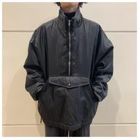 90s half zip nylon pullover