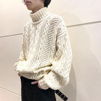 "90s ""GAP"" turtle necked cotton knit sweater"