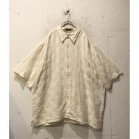 oversized s/s linen shirt
