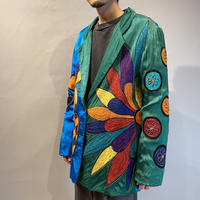 80s〜90s embroidery tailored jacket