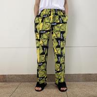"00s~ ""GRINCH!"" pajamas pants"