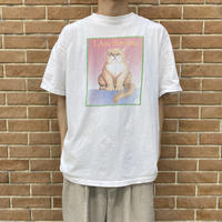 90s  unique printed T-shirt