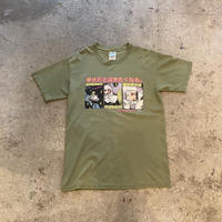 "2003s ""THE FLAMING LIPS"" printed tee"