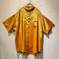 oversized shiny S/S shirt
