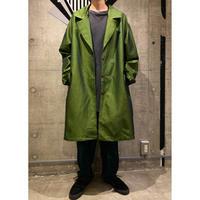 oversized shiny jacket coat