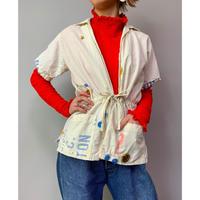 80年代 半袖コットンジャケット