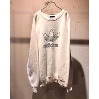 "80s〜 ""adidas"" logo sweat shirt"