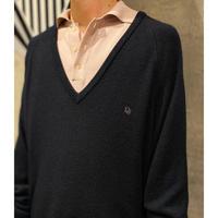 """old """"Dior"""" V-neck knit tops"""
