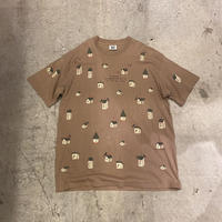 """90s """"rel・e・vant product"""" printed tee"""