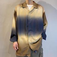 """Karl Kani"" gradation open collar shirt"