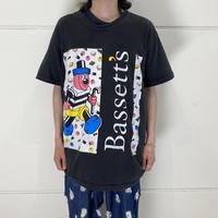 """90s """"Bassett's"""" printed tee"""