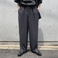 90s~striped easy pants