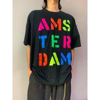 """90年代 """"AMSTERDAM"""" プリントTシャツ"""
