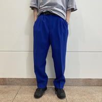 90s 3tucks slacks pants (BLU)