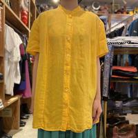 oversized linen S/S shirt