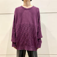 """90s~ """"Eddie Bauer"""" cotton knit sweater"""