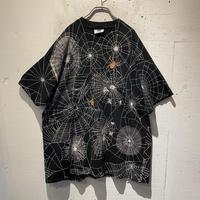 90s~00s  Spider pattern printed tee