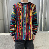 "90s~ ""COOGI"" cotton knit sweater"