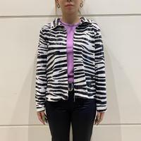 old zebra patterned design jacket