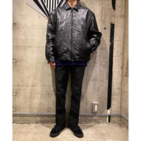 Leather drizzler jacket
