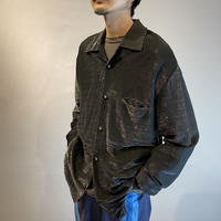 90s〜shiny rayon shirt