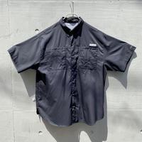"""Columbia"" PFG S/S shirt(BLK)"