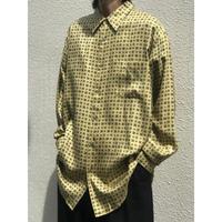 90年代 オリエンタル柄シャツ