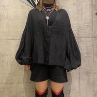 old pleats design cardigan