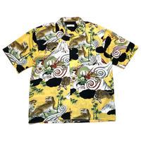 90s〜japanese patternef s/s shirt
