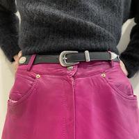 design western leather belt