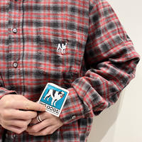 """BIG DOGS"" L/S flannnel checked shirt"
