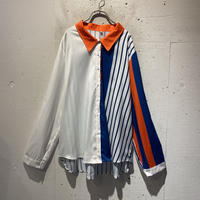 crazy pattern L/S shirt