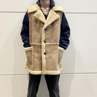 70s〜80s cut off mouton vest