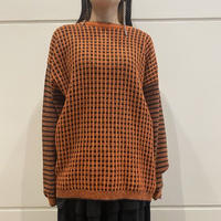 all patterned cotton mix knit
