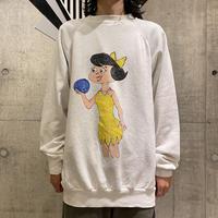 90s hand painting sweat shirt