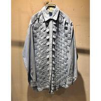 "80s〜 ""YAK MAGIK"" design L/S shirt"