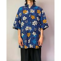 90年代 レーヨンアロハシャツ