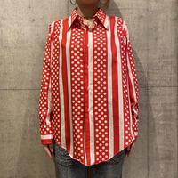 """Marlboro"" 70s all patterned l/s shirt"