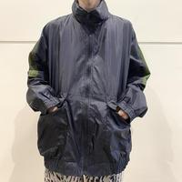 90s design nylon zip up jacket